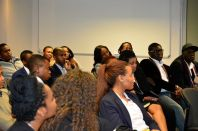 The audience at the Fred Swaniker event