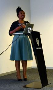 Lilitha Mahlati introducing the topic
