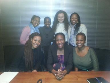 At the Mandla Msimang mentor event