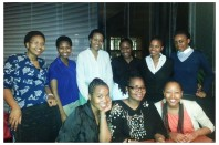 With our guardian mentor, Dr Vuyo Mahlati