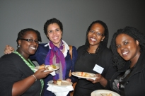 At our Veronica Devine Mentor Event