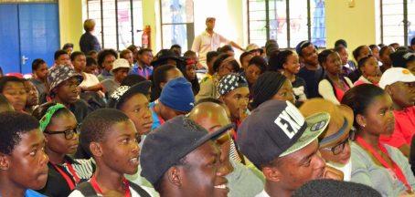 At a Thandulwazi (PIF) Session